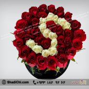 سفارش باکس گل حروف