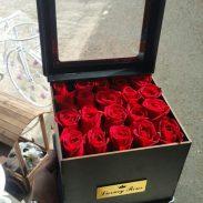باکس گل رز درب دار