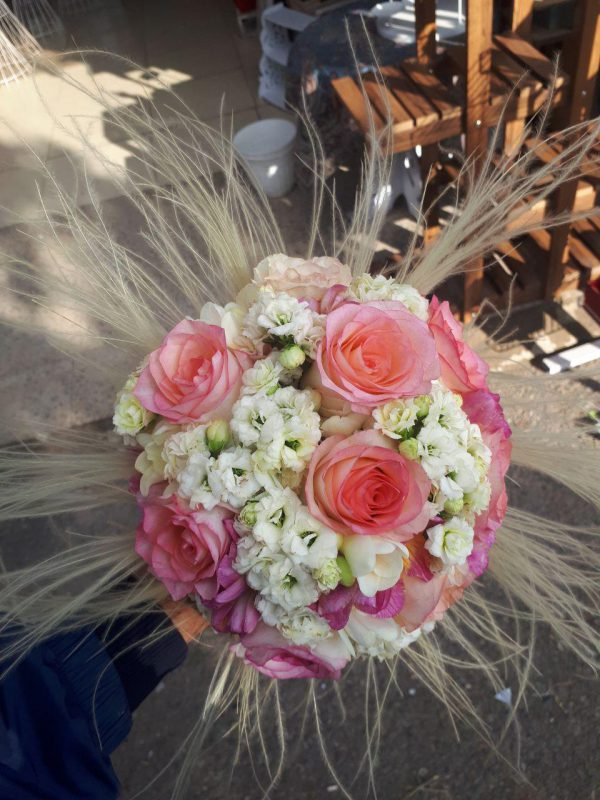 خرید آنلاین و اینترنتی دسته گل ژورنالی برای عروس و هدیه خواستگاری و جشن عروسی در تهران از گلفروشی و فروشگاه انلاین شادیچی