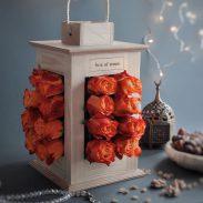 خرید اینترنتی و آنلاین گلدان طرح فانوس لاکچری و خاص در تهران از فروشگاه و گلفروشی انلاین شادیچی