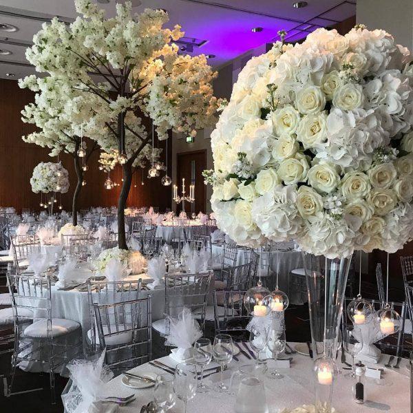گلدان های گل طبیعی مخصوص مراسم شادی شماره 158 3