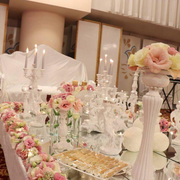 گلدان های گل طبیعی مخصوص مراسم شادی شماره 158 4