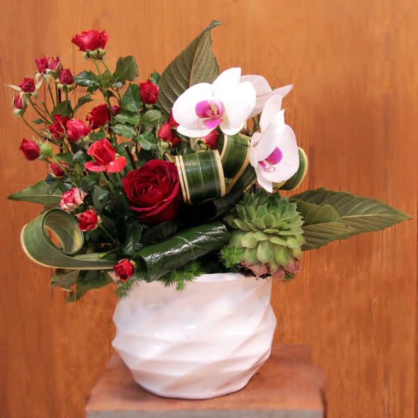 گلدان گل برای تبریک