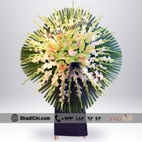 ارسال تاج گل فوری مجلس ختم