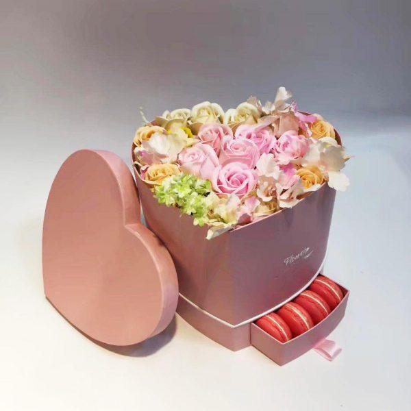 باکس گل رز کشویی