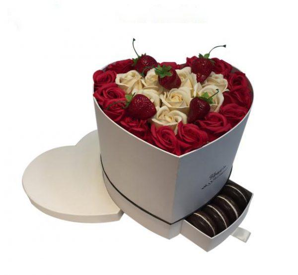 باکس گل رز کشویی خالی