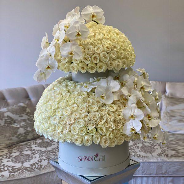باکس گل دوطبقه