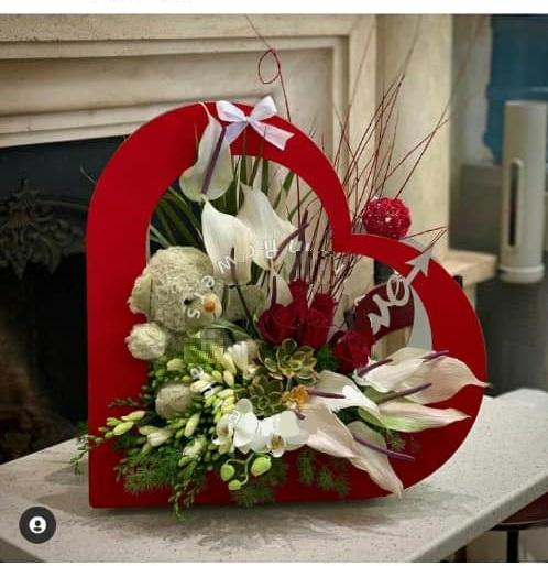باکس گل زیبا